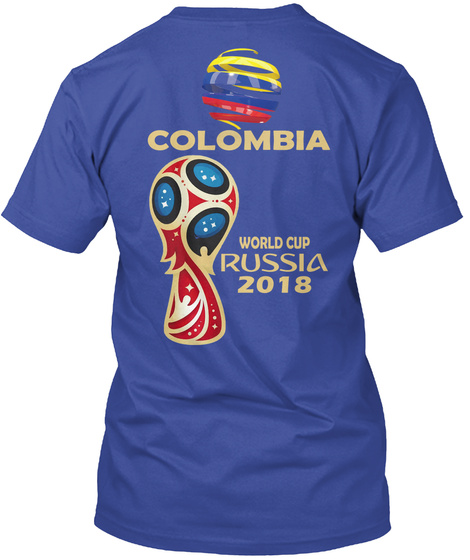 b3af23c3b90 Colombia Russia 2018 World Cup Products from T-SHIRTS RUSSIA 2018 ...