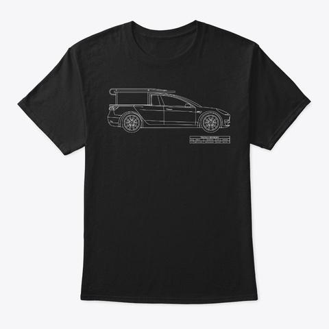 Truckla T Shirt Black Black T-Shirt Front