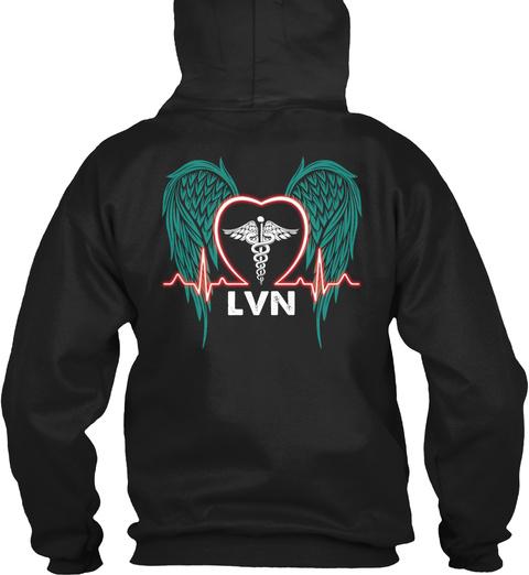 Lvn Black T-Shirt Back