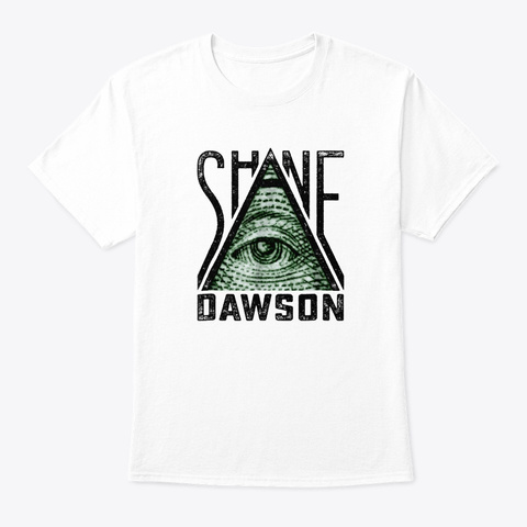 All Seeing Eye T Shirt White T-Shirt Front