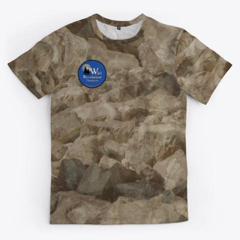 Desert Camo Unisex Jersey Standard T-Shirt Front