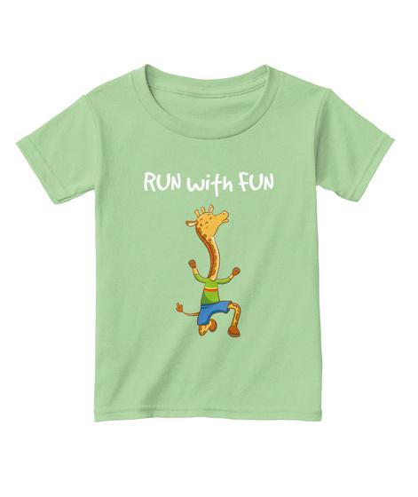 8b797c40 Funny Giraffe Kids Run Fun - RUN with FUN Products from Bezra's t ...