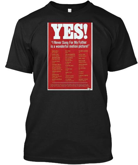 Movie Poster Merchandise Black T-Shirt Front