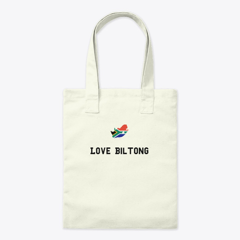 Love Biltong Natural T-Shirt Front