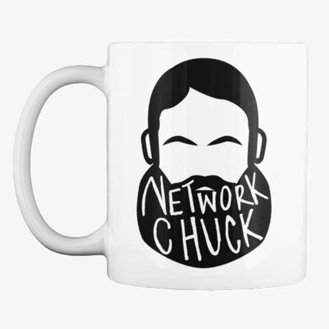 Official Network Chuck Mug White T-Shirt Front