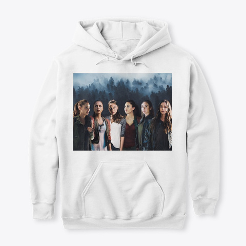 Raven Reyes Evolution Collection White T-Shirt Front