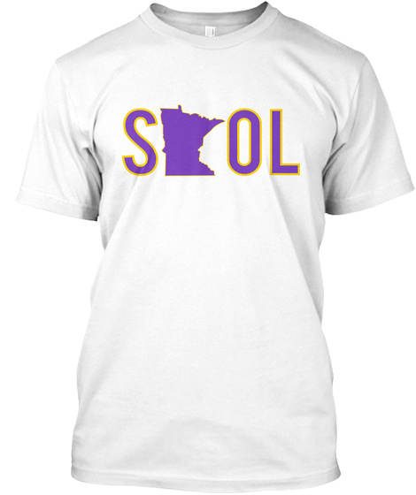 Sol White T-Shirt Front