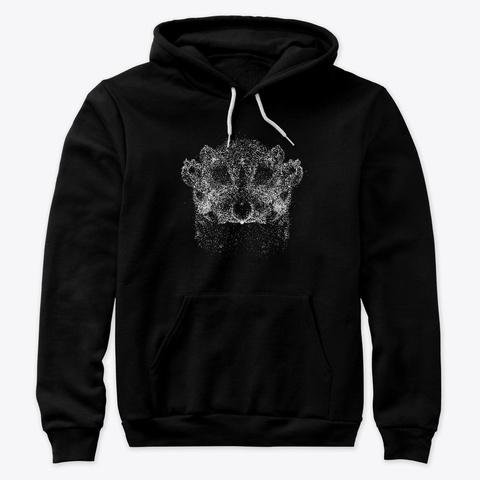 Spectral Badger Black T-Shirt Front