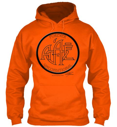 Agape The Original Safety Orange T-Shirt Front