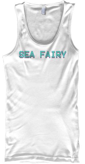 Sea Fairy White T-Shirt Front