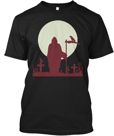 Halloween Special T Shirt And Hoodie Black T-Shirt Front