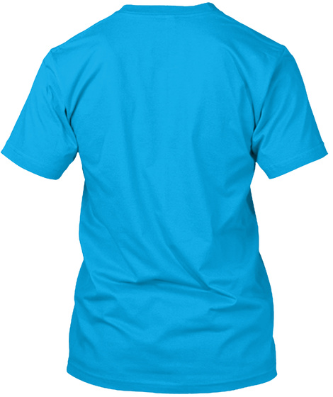 Zsr Relaxed Tee(Men's) Turquoise T-Shirt Back