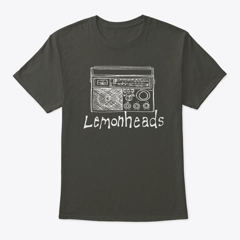 Lemonheads Radio White Smoke Gray T-Shirt Front