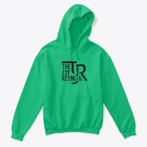 Tjr (Kids Pullover Hoodie) Irish Green T-Shirt Front