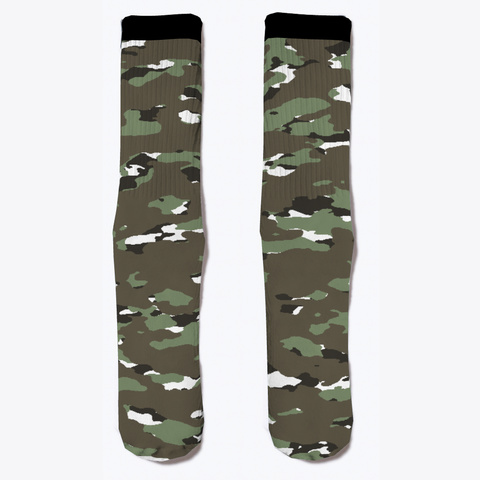 Military Camouflage   Alpine Iii Standard T-Shirt Front