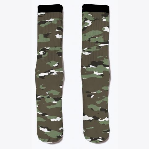 Military Camouflage   Alpine Iii Standard Camiseta Front