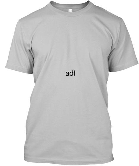 Adf Sport Grey T-Shirt Front