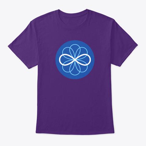 Accademia Infinita Logo Purple T-Shirt Front