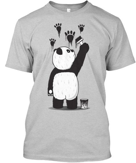 Pandalism Shirt Light Steel T-Shirt Front