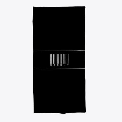Barcode Badguy Black Maglietta Front