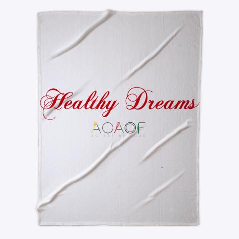 Healthy Dreams Fleece Throw Standard T-Shirt Front