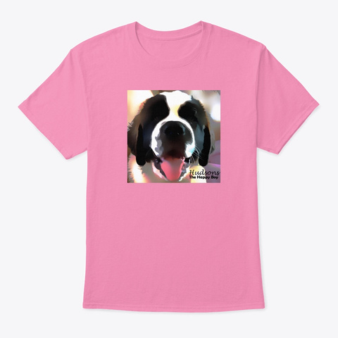 Hudson The Happy Boy Pink T-Shirt Front
