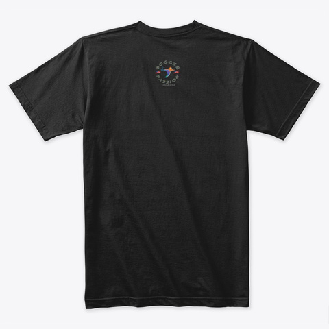 Victory Soccer Black T-Shirt Back