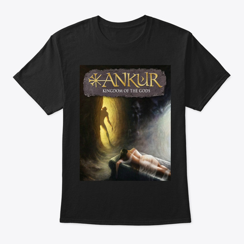Classic Ankur Tee In Black Black T-Shirt Front