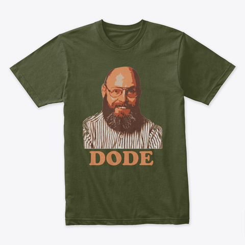 Dode Military Green T-Shirt Front