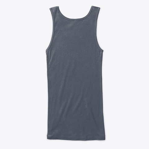 Fitness Gypsy Tank Deep Heather T-Shirt Back