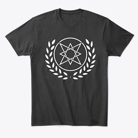 Order Of The Eight   Satanic Action Black T-Shirt Front