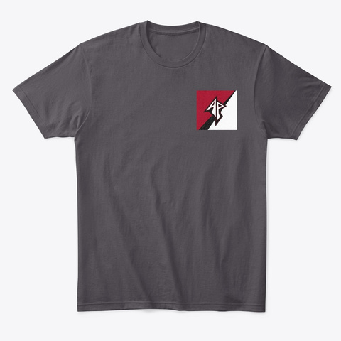 A Purvis Blades Logo Merchandise  Heathered Charcoal  T-Shirt Front