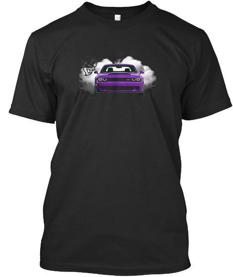 Plum Crazy  Demon  Black T-Shirt Front