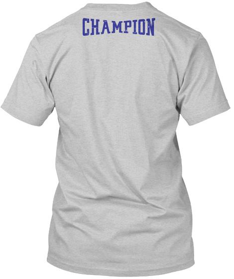 Champion Light Steel T-Shirt Back