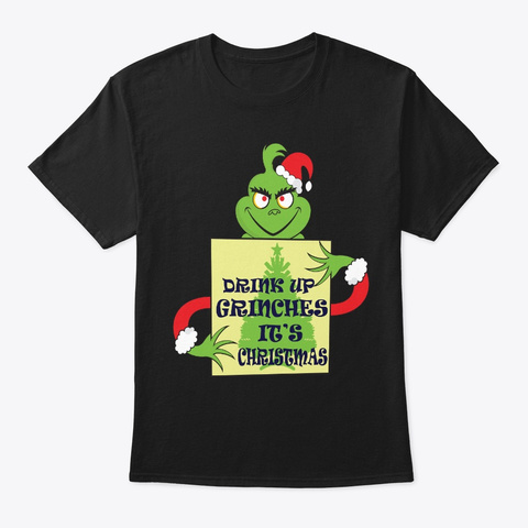 Christmas Movie Gift Griswold National Black T-Shirt Front