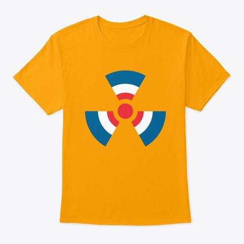 Mod Radioactive Gold T-Shirt Front