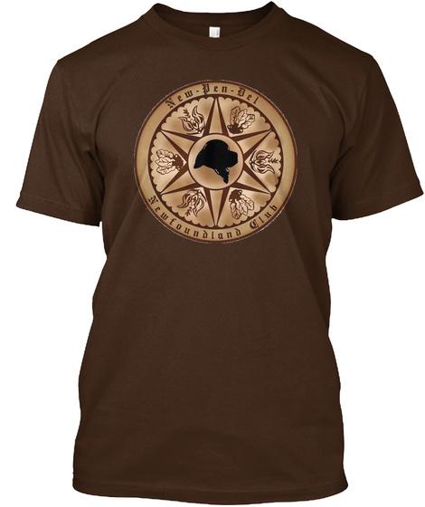 New Pen Del Newfoundland Club Dark Chocolate T-Shirt Front
