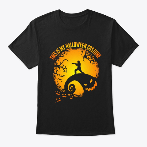Karate Girls Halloween Gifts This Is My  Black T-Shirt Front