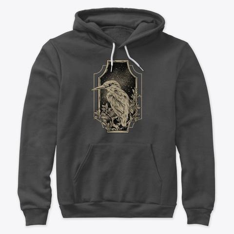Kingfisher Dark Grey Heather T-Shirt Front