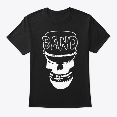 Hard Core Marching Band Black T-Shirt Front