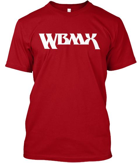 Wbmx Deep Red T-Shirt Front