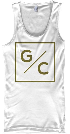 G/C White T-Shirt Front