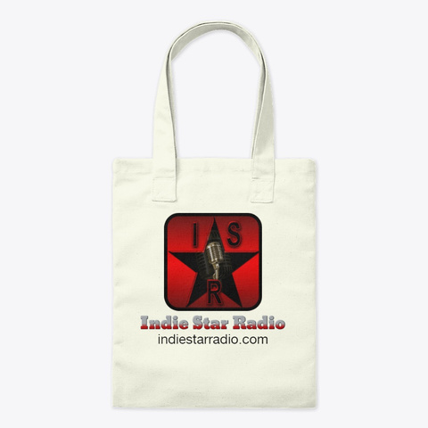 Official Indie Star Radio Tote Bag Natural T-Shirt Front