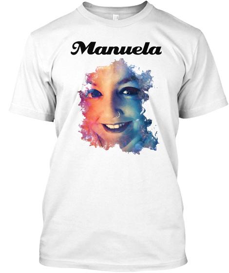 Manuela White T-Shirt Front