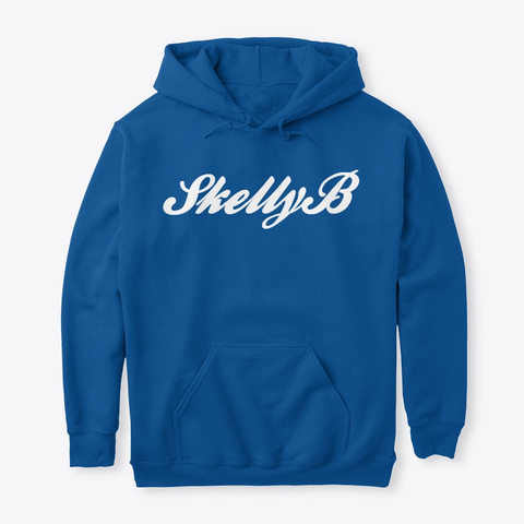 Skelly B Royal T-Shirt Front