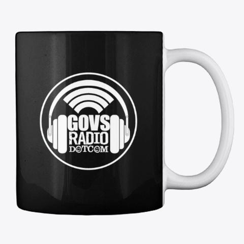 Limo Talk With Graz   Gov's Radio   Mug Black T-Shirt Back
