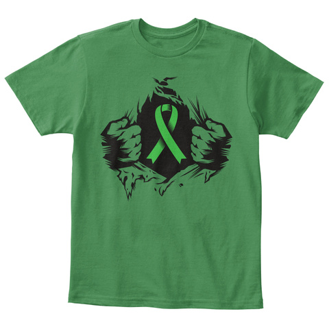 Limited Edition! Kids Tee Kelly Green  T-Shirt Front