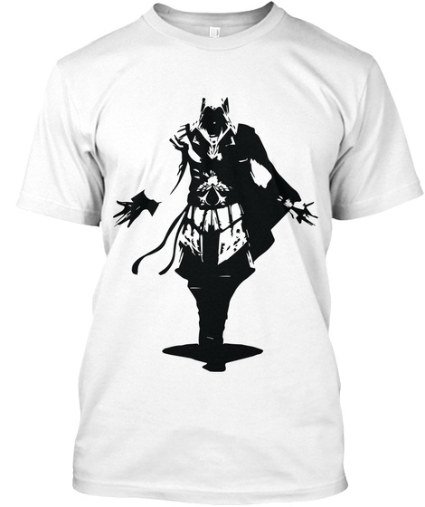 Assassin's Creed T Shirt White T-Shirt Front