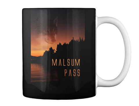 Malsum Pass Mug Black Mug Back