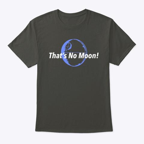 No Moon Smoke Gray T-Shirt Front